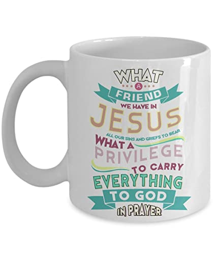What A Friend We Have In Jesus Perfect Christian Gift For Birthday And Christmas Special