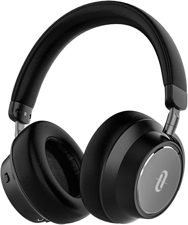 TaoTronics Hybrid Active Noise Cancelling Headphones 2019 Upgraded Bluetooth Headphones SoundSurge 46 Over Ear Headphones Headset with Deep Bass, Fast Charge 30 Hour Playtime for Travel Work TV PC
