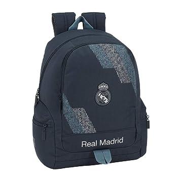 Safta Mochila Adaptable Carro Real Madrid, Color Azul, 43 cm (611834662)