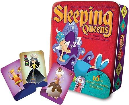 Sleeping Queens 10th Anniversary Tin Card Game by Gamewright: Amazon.es: Juguetes y juegos