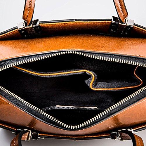 Señoras Moda Salvaje Mano Messenger Bag LightBlue