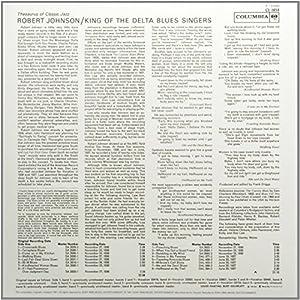 King Of The Delta Blues Singers (180 Gram Vinyl)