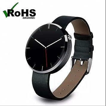 Reloj Inteligente Digital de Pulsera Electrónica Bluetooth Deporte Reloj Pulsómetro Pulsera Reloj Actividad Pulsera Smartband,