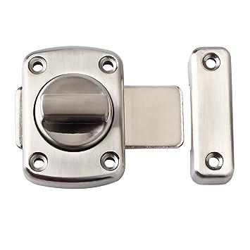 Alise Rotate Bolt Latch Gate Latches safety Door LockMS220U Brushed Finish  sc 1 st  Amazon.com & Alise Rotate Bolt Latch Gate Latches safety Door Lock MS220U ... pezcame.com