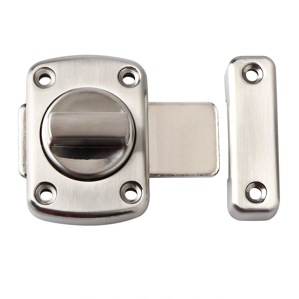 Alise Rotate Bolt Latch Gate Latches safety Door Lock,MS220U Brushed Finish