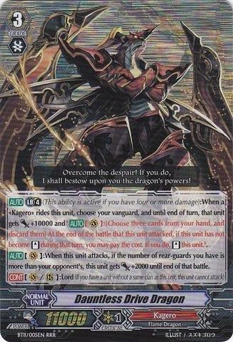Dragon Drive Cards (Cardfight!! Vanguard TCG - Dauntless Drive Dragon (BT11/005EN) - Seal Dragons Unleashed)