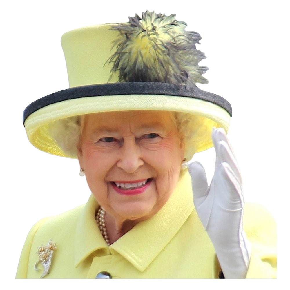 ColorBok Joy Riders Queen Window Cling 10019