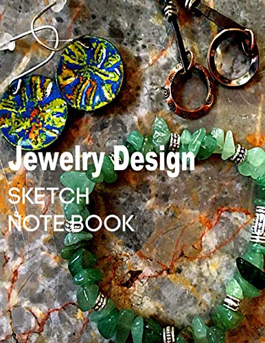 Jewelry Design Sketch Note Book: Great for Jewelry Artists to Sketch Journal their - Earrings Fashion Out