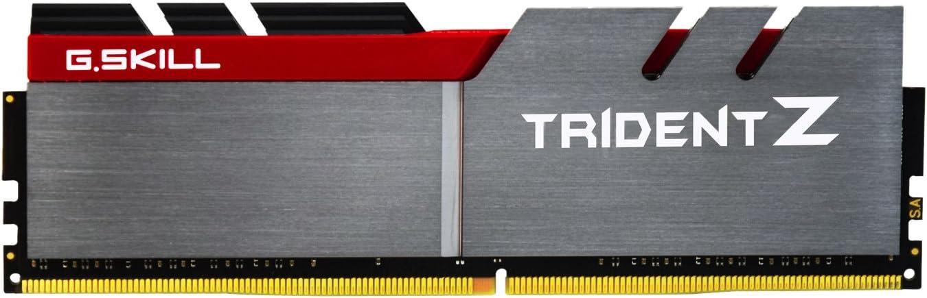 G.SKILL 16GB (2 x 8GB) TridentZ Series DDR4 PC4-32000 4000MHz for Intel Z170 Platform Desktop Memory Model F4-4000C19D-16GTZ