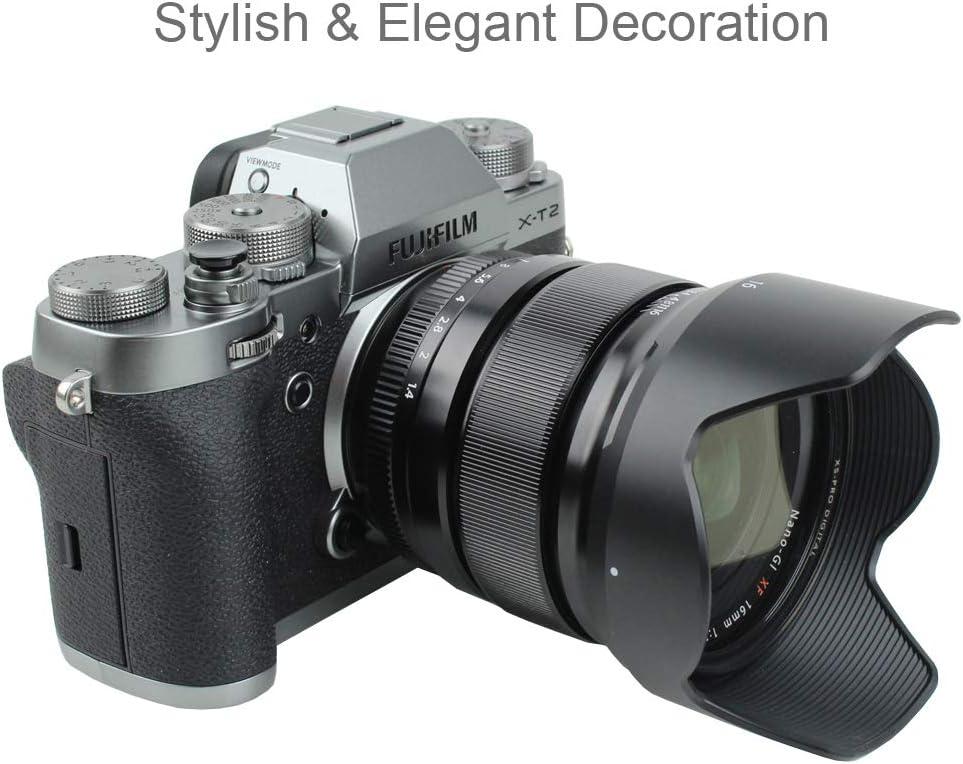 Foto/&Tech 3PC Black Soft Shutter Release Button Compatible with Fujifilm X-T20 X-T10 X-T3 X-T2 X-PRO2 X-PRO1 X100F X100T X100S X30 X-E2S X-E3//Sony RX1R II RX10 IV III II//Lecia M10 M9 M8//Nikon Df M2 F3