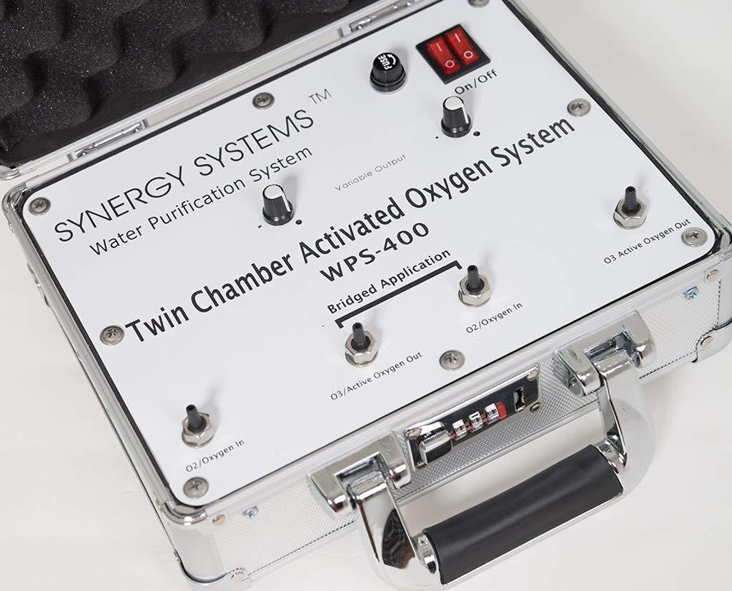 Synergy WPS-400 Ozone Generator | Professional Ozone Machine | 110 v | Professional Output 27-84 mcg/ml by Synergy Ozone