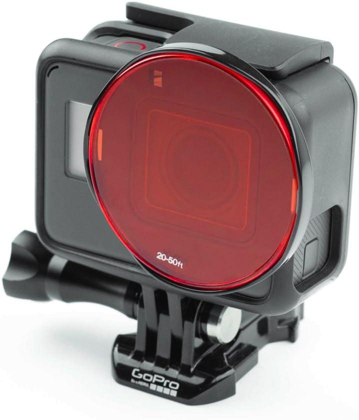 Sandmarc Aqua Filter: Filtro de Buceo para GoPro Hero 5 - Set de filtros Rojo, Magenta y Amarillo - 5 Pack - Accesorios de Buceo y Snorkel (HERO5 Black): Amazon.es: Deportes y aire libre