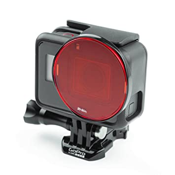 Sandmarc Aqua Filter: Filtro de Buceo para GoPro - Set de filtros Rojo, Magenta y Amarillo - 5 Pack - Accesorios de Buceo y Snorkel