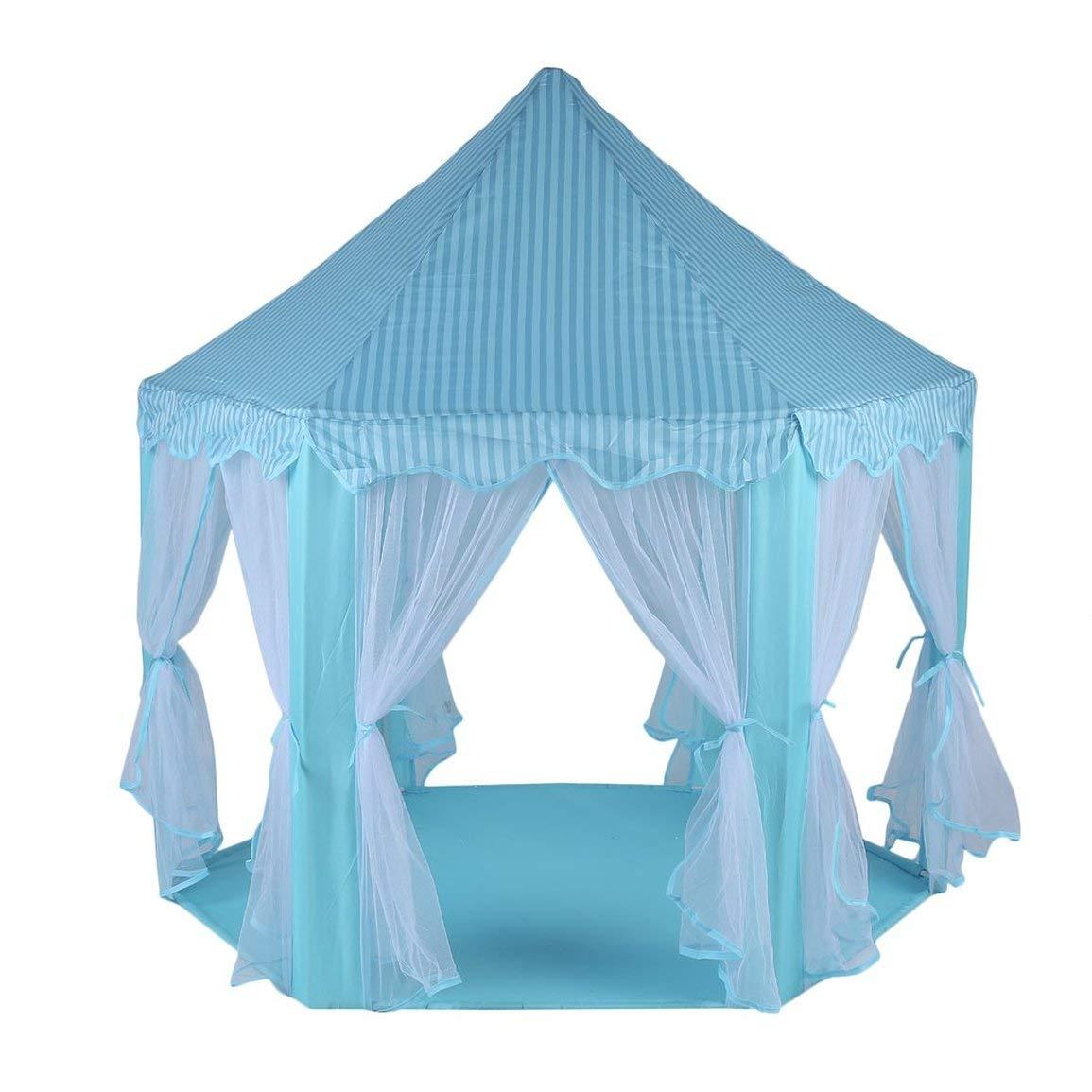 Faltbare Design Kinder Kinder-Spiel-Zelt großen Raum Wasserdicht Fest Farbe Kinder Castle Cubby Play House
