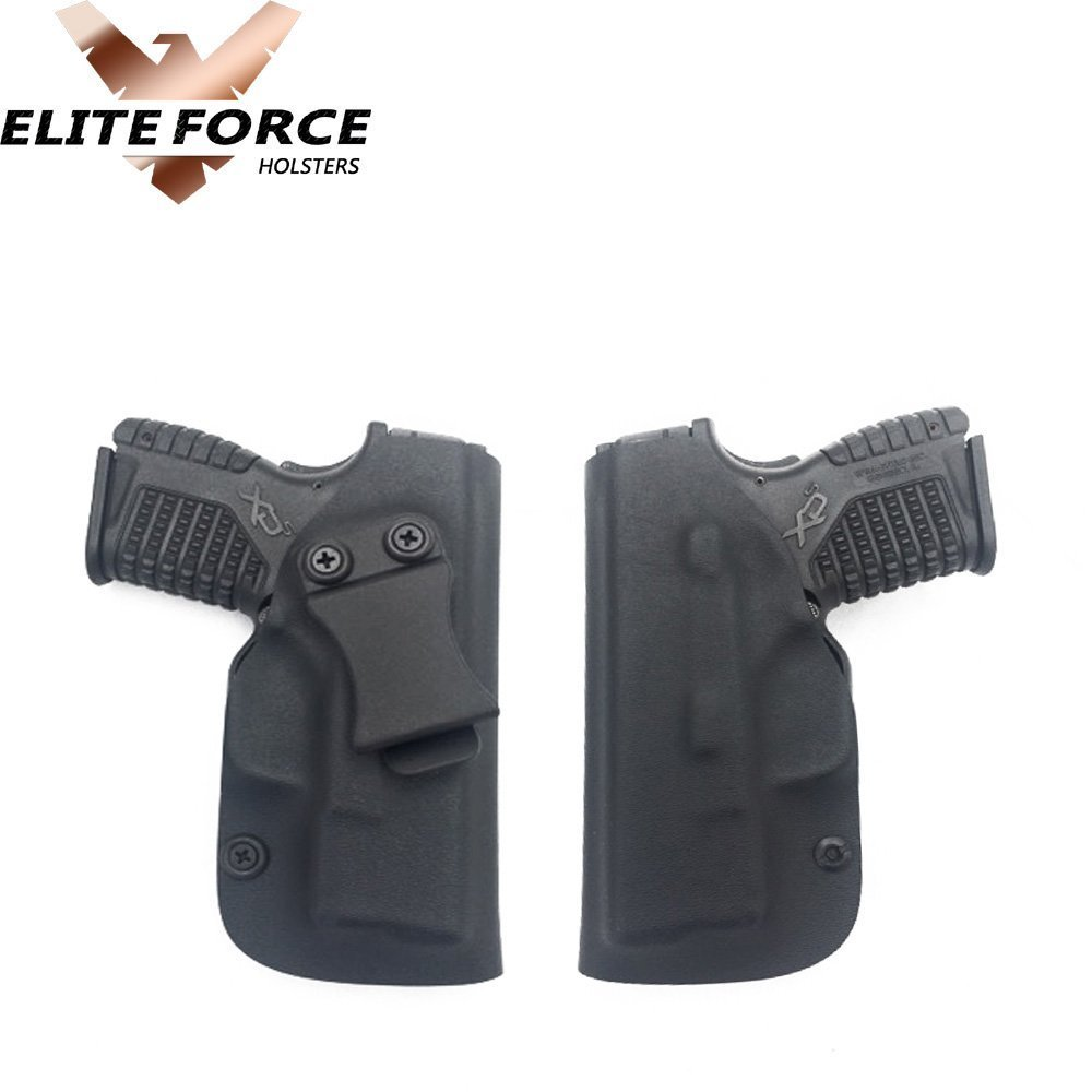 RUGER AMERICAN COMPACT 9MM GUN HOLSTER KYDEX IWB BLACK~~DUAL SIDED SWEAT SHIELD~~