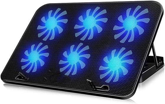 luckyNO.1 Soporte para portátil Radiador Rack de Ventilador de Estante portátil DELL Apple ASUS Millet Samsung HP Rack de enfriamiento sin Sonido: Amazon.es: Electrónica