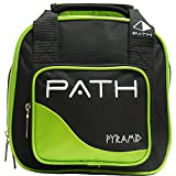 Cheap Pyramid Path Spare Ball Tote Lime Green