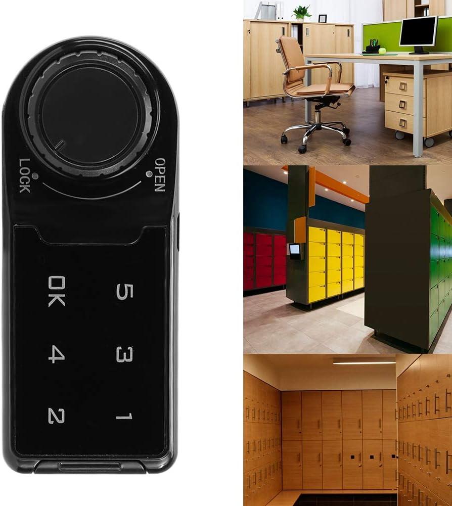 L = 20 mm Touch-Tastatur Elektronisches Zahlenschloss Passwort DIY-Schloss Schrankschloss f/ür Aktenschrank-Briefkasten Caredy Elektronisches Schrankschloss