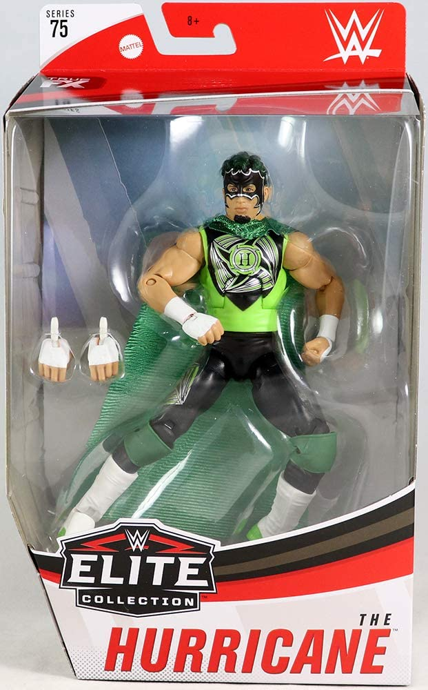 Ringside Hurricane (White Boots) - WWE Elite 75 Mattel Toy Wrestling Action Figure