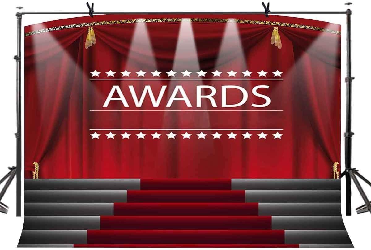 Edcott 7x5ft Award Ceremony Backdrop Red Carpet Flash Amazon Co Uk Camera Photo