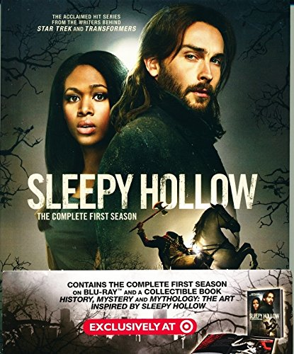 Sleepy Hollow: The Complete First Season (2013) TARGET-EXCLUSIVE DIGIBOOK 3-DISC BLU-RAY SET