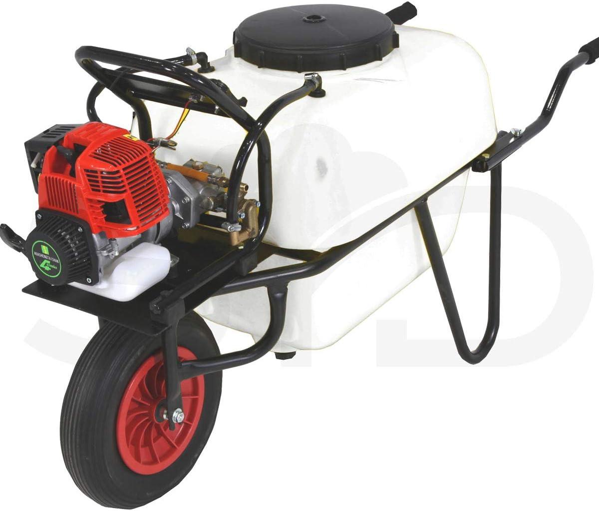 Carretilla 100l para fumigar. Motor 4 tiempos 30bar 10ltr.
