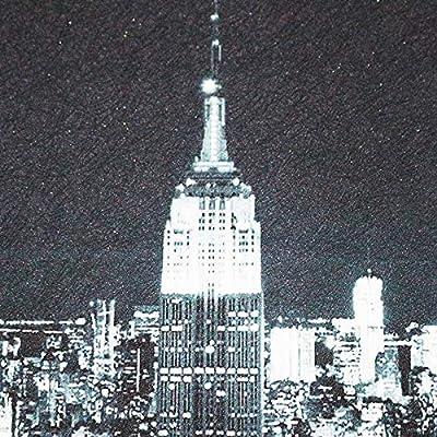 YMJSSS Papier peint photo personnalisé Vue de nuit New York ...