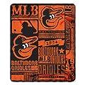 Baltimore Orioles 50x60 Fleece Blanket - Strength Design