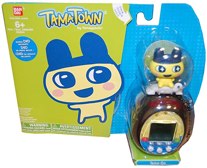 Amazon Tamagotchi Tamatown Black And Yellow Tama Go With