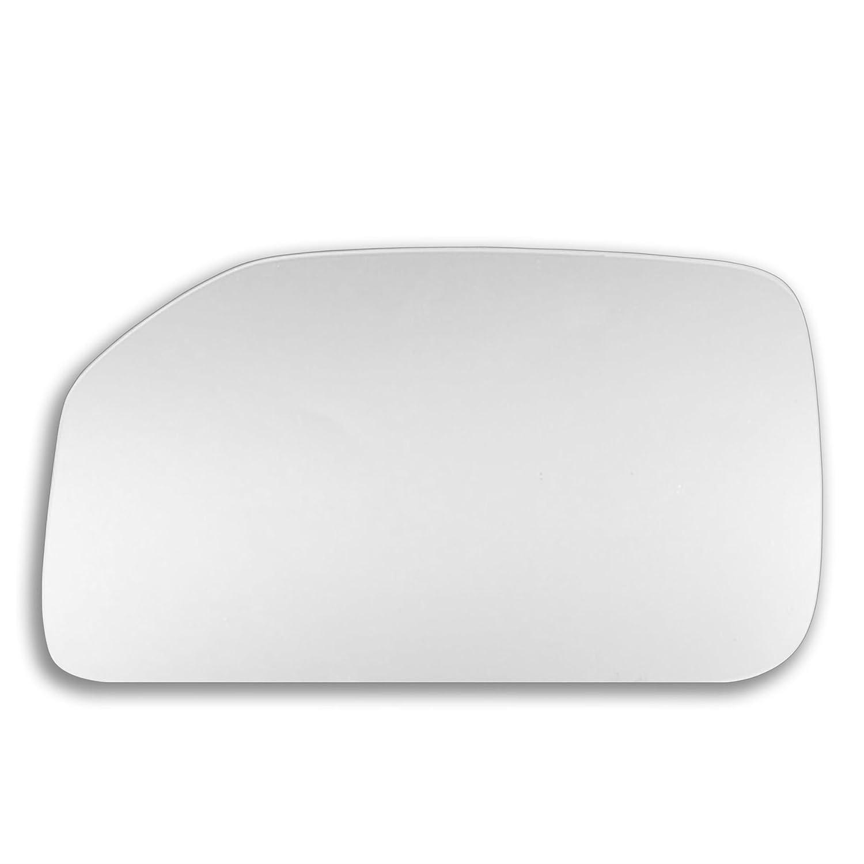 91//03-r /_ C Pe106 c/ôt/é droit R/étroviseur porte Stick On Miroir de remplacement c/ôt/é conducteur Quick Fix Argent # Pe10 v/éritable verre