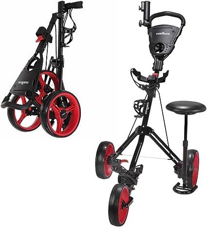 Caddymatic Golf X-TREME best push Golf Cart