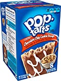 Pop-Tarts Breakfast Toaster Pastries, Frosted Chocolate Chip Cookie Dough Flavored, 14.1 oz, 8 count(Pack of 8)