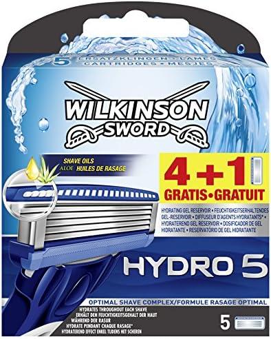 Wilkinson Sword - Hydro 5 - Afeitar - 5 piezas: Amazon.es: Salud y ...