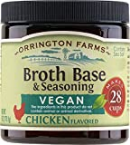 Enjoy the great taste of Orrington Farms all natural vegan chicken flavored broth base & seasoning. The demand for vegan options in the marketplace continues to grow and Orrington Farms now offers vegan broth bases. Through our research, we found...