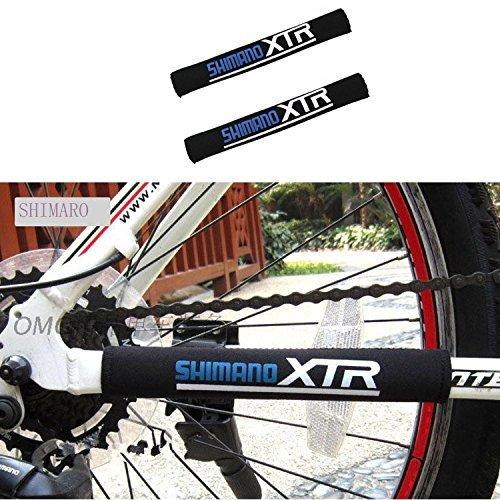 VABNEER Cycling Bicycle Bike Frame Chain Protective Guard Pad Bicycle Accessories (Black,1 -