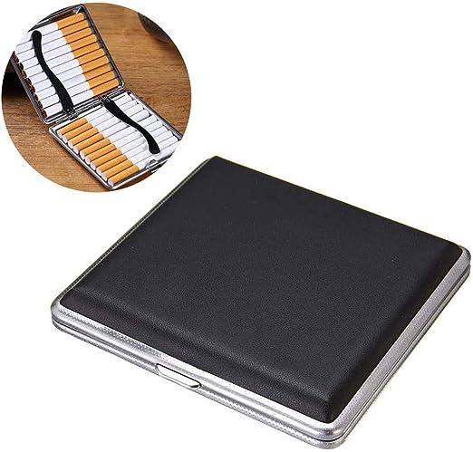 A&D Estuche de Cigarrillos Estuche de Metal de Aluminio Estuche de Cigarrillos Cubierta magnetizada Portátil Ultrafino Puede Contener 20 Cigarrillos: Amazon.es: Hogar