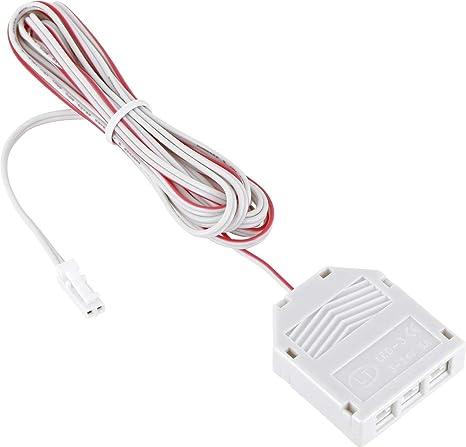 schwarz Verbindungskabel Anschlusskabel 12V MINI-AMP 2m Kabel mit 6-Fach Verteiler
