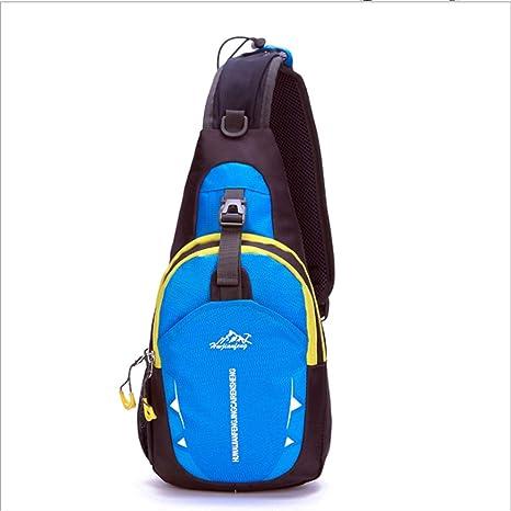 Mochila pequeña para hombre, bolsa de pecho, bolsa de viaje ...