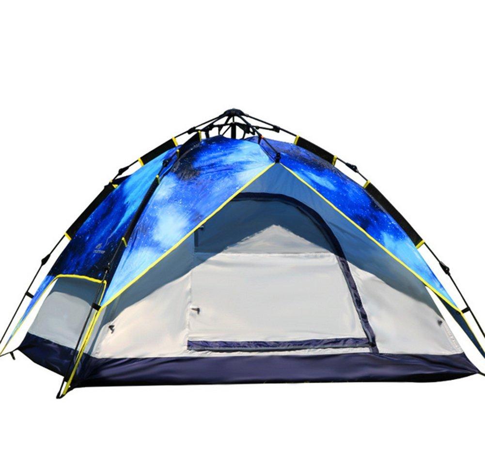 Fptcustom Outdoor-automatische Zelt, 3-4 Luft Regendichten Zelt Sonnenschutz Strandzelt