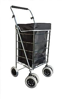 Alexander Graham Exclusivo Alta Calidad 6 - Rueda de Carro de la compra con mango…