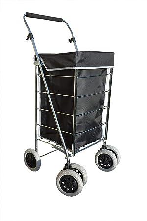 Alexander Graham Exclusivo Alta Calidad 6 - Rueda de Carro de la compra con mango ajustable