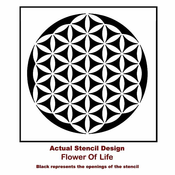 Mandala Flower of Life Stencil - Reusable Stencils for Walls - Stencils for  DIY Wall Decor - By Cutting Edge Stencils (SM)