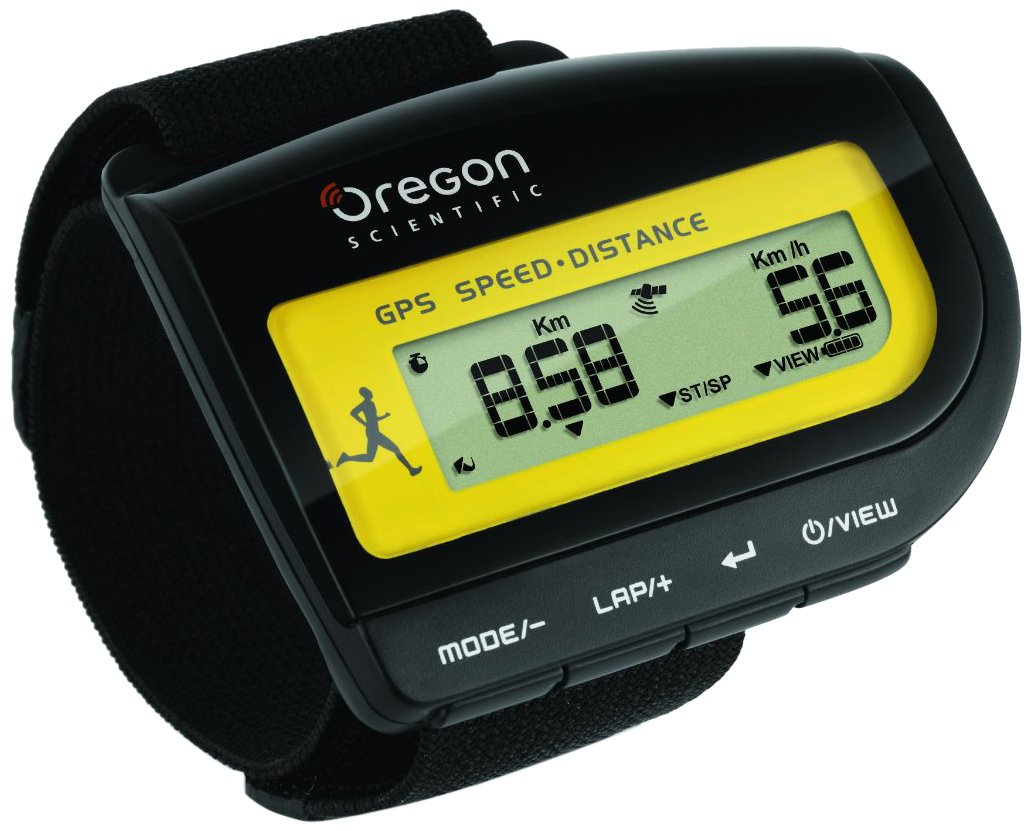 Oregon Scientific Monitor GPS de Velocidad y Distancia