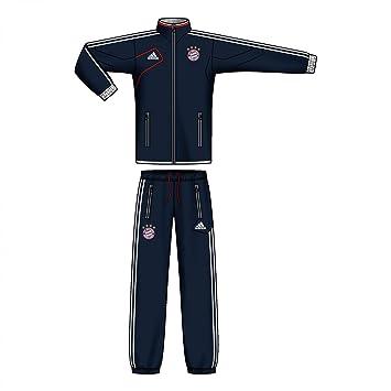 online zu verkaufen Infos für offizieller Preis Adidas FC Bayern Trainingsanzug Kinder 2012/13