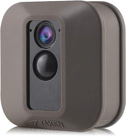 Jessy Silikon Schutzhülle Für Blink Xt Xt2 Überwachungskamera Kratzfest Uv Und Witterungsbeständig 1 Stück Braun Elektronik