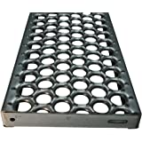 48 Length x 7 Width x 1-1//2 Depth 3231514-48 Grip Strut Channel 14 Gauge Galvanized Steel 3-Diamond Plank Safety Grating