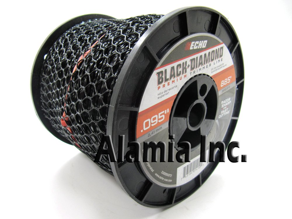 Echo New Black Diamond .095 Commercial Trimmer Line 3-Lbs. Medium Spool 885 Feet