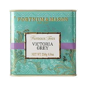 Fortnum & Mason Victoria Grey Tea, Loose Leaf Tin, 250g