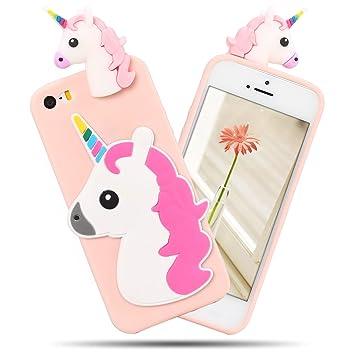 coque iphone 5 licorne silicone