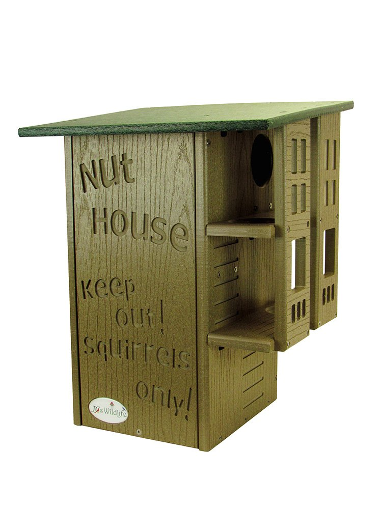 JCs Wildlife Ultimate Red Fox, Gray and Black Squirrel House, Nesting box